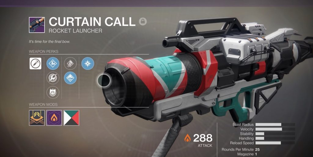 armas lendarias de destiny 2_curtain_call